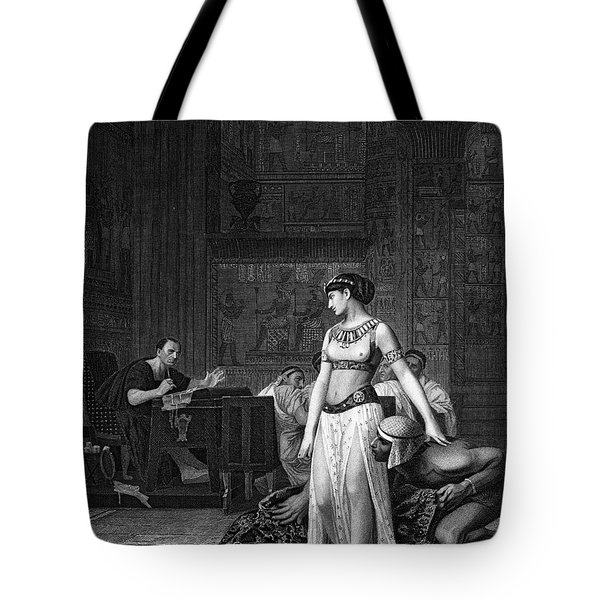 Cleopatra Vii (69-30 B.c.) Tote Bag by Granger