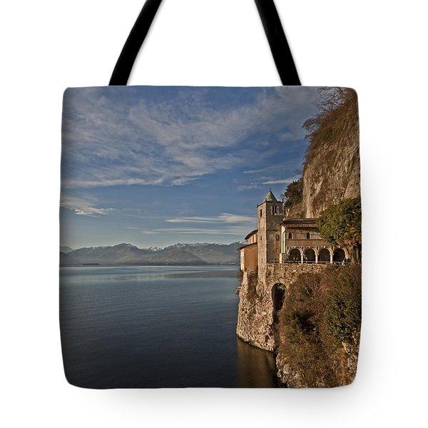 Santa Catarina Del Sasso Tote Bag by Joana Kruse