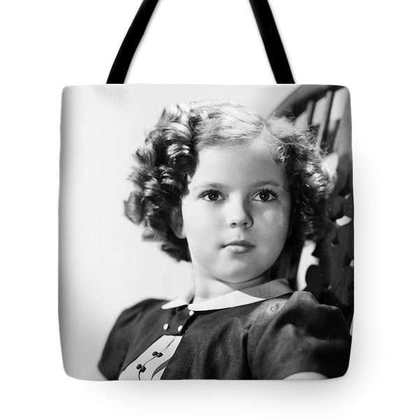 Shirley Temple (1928-  ) Tote Bag