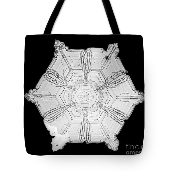 Snowflake Tote Bag by Science Source