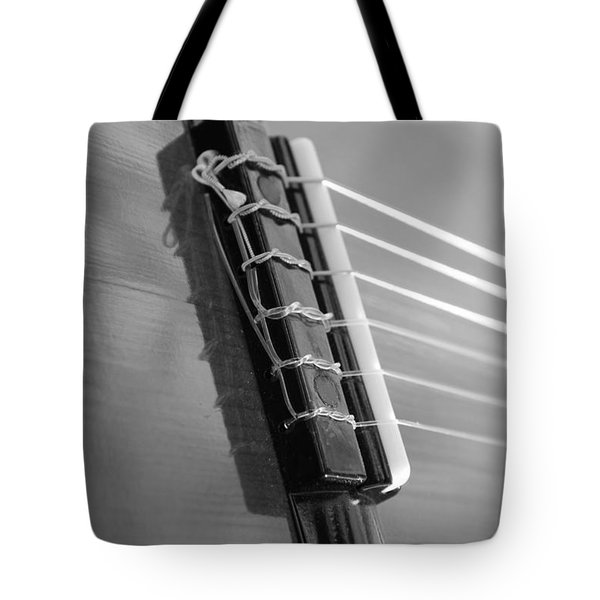 6 String Bw Tote Bag