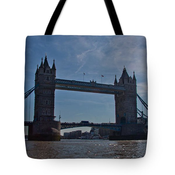 Tower Bridge Tote Bag by Dawn OConnor