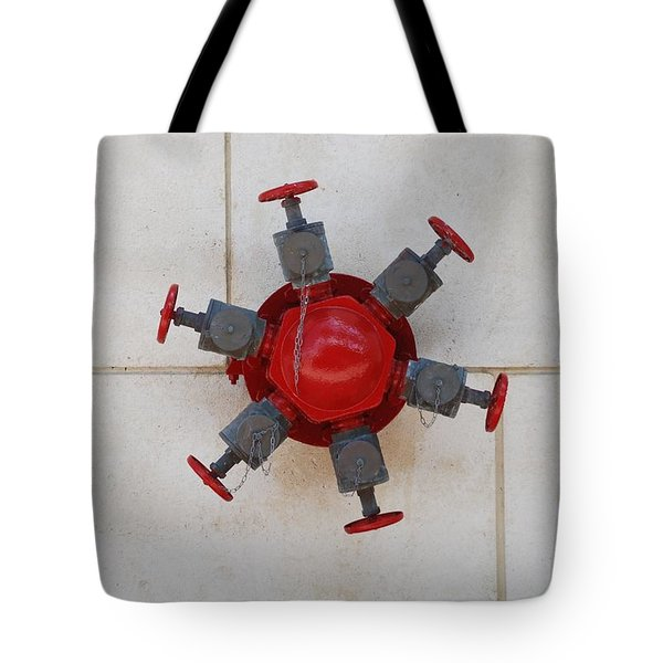 6 Valve Tote Bag