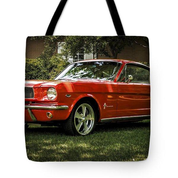 '66 Mustang Tote Bag