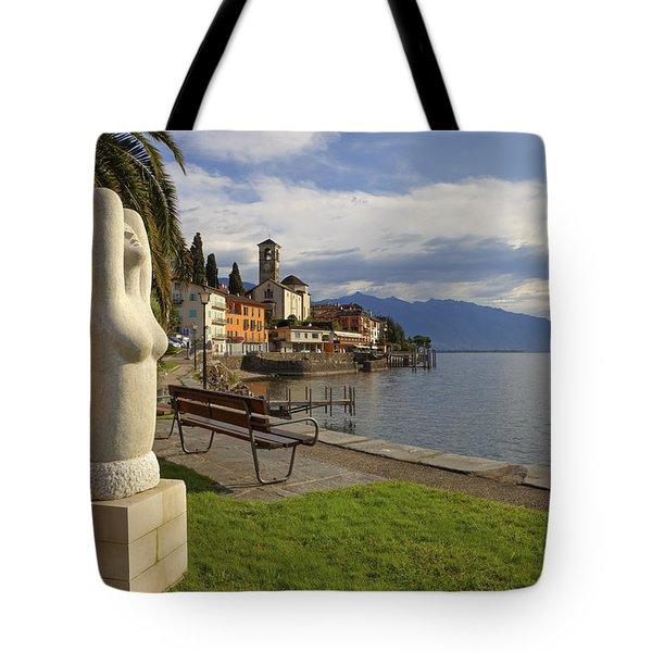Brissago - Ticino Tote Bag by Joana Kruse