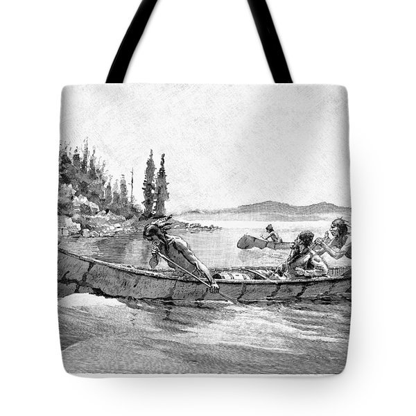 Canada Fur Trade Tote Bag by Granger