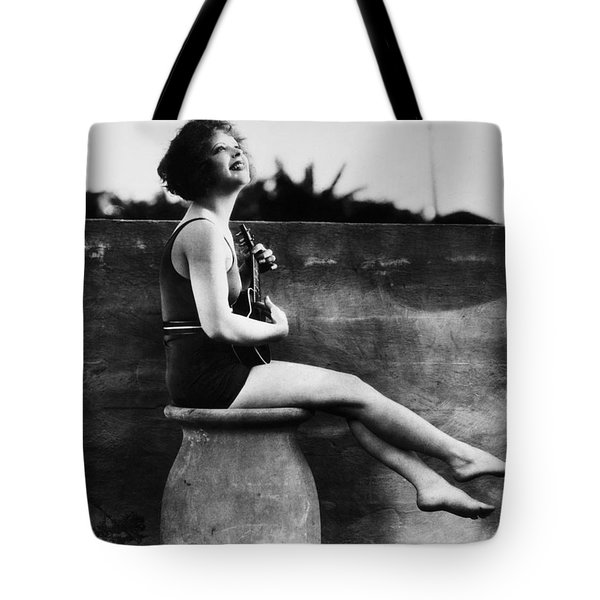 Clara Bow (1905-1965) Tote Bag by Granger