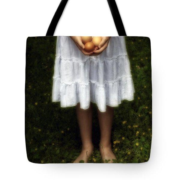 Eggs Tote Bag by Joana Kruse