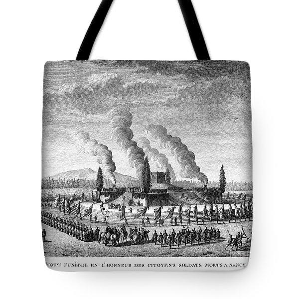 French Revolution, 1790 Tote Bag by Granger