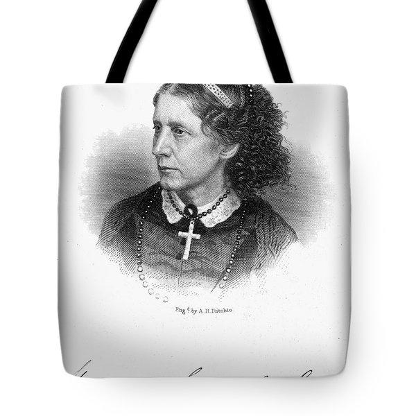 Harriet Beecher Stowe Tote Bag by Granger
