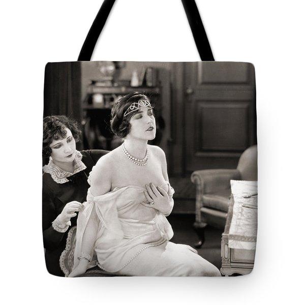 Silent Still: Bedroom Tote Bag by Granger