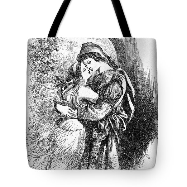 Troilus And Cressida Tote Bag by Granger