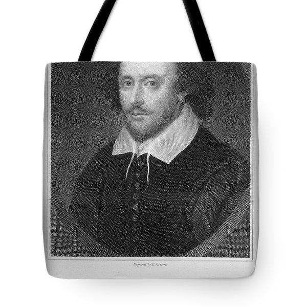 William Shakespeare Tote Bag by Granger