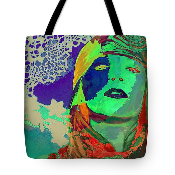 70's World Tote Bag by Jan Amiss Photography
