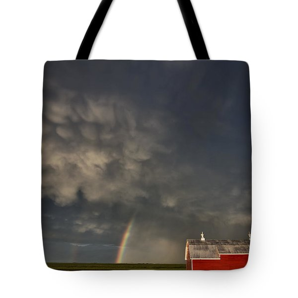 Abandoned Farm Tote Bag by Mark Duffy