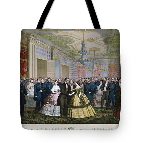 Abraham Lincoln (1809-1865) Tote Bag by Granger