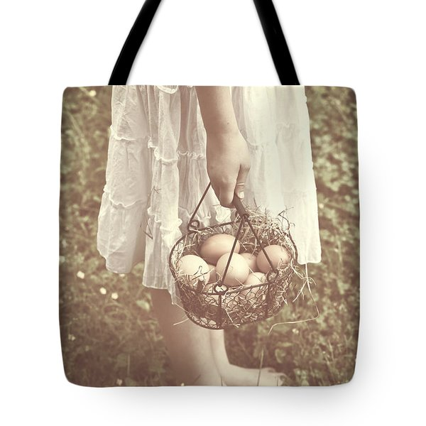 Eggs Tote Bag by Joana Kruse