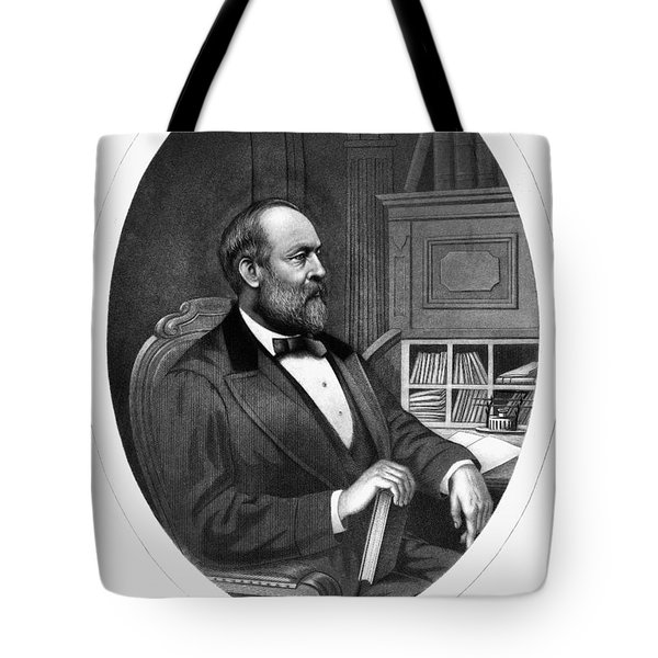 James A. Garfield (1831-1881) Tote Bag by Granger