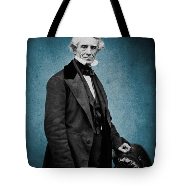Samuel Morse, American Inventor Tote Bag by Science Source