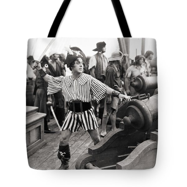 Silent Film Still: Pirates Tote Bag by Granger