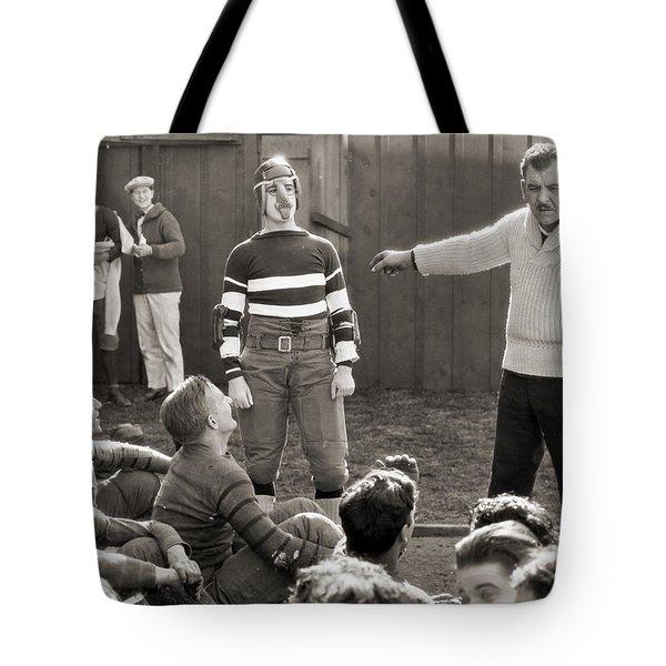 Silent Still: College Tote Bag by Granger