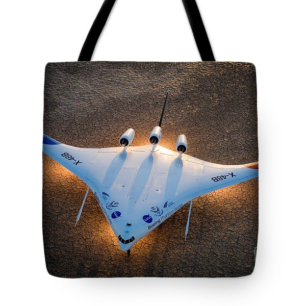 X48b Blended Wing Body Tote Bag by Nasa