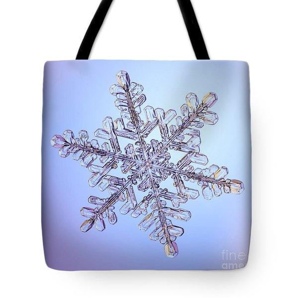 Snowflake Tote Bag by Ted Kinsman