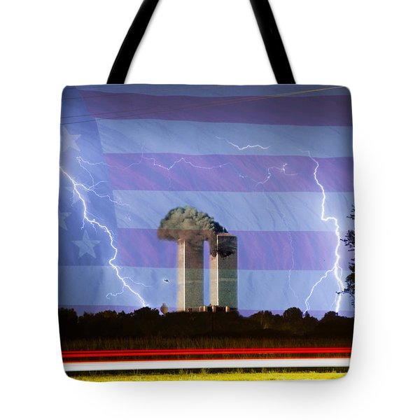9-11 We Will Never Forget 2011 Tote Bag by James BO  Insogna