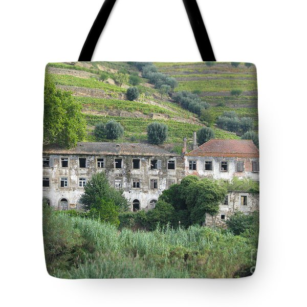 Douro River Valley Tote Bag by Arlene Carmel