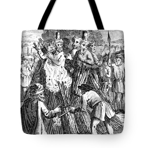 Foxe: Book Of Martyrs Tote Bag by Granger