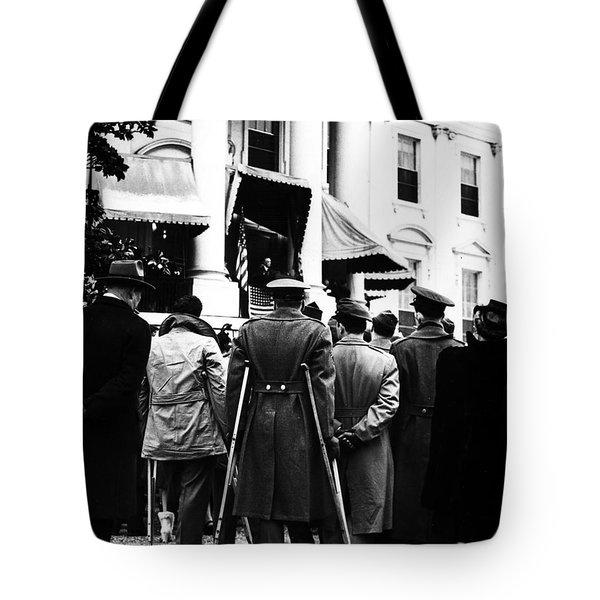 Franklin D. Roosevelt Tote Bag by Granger