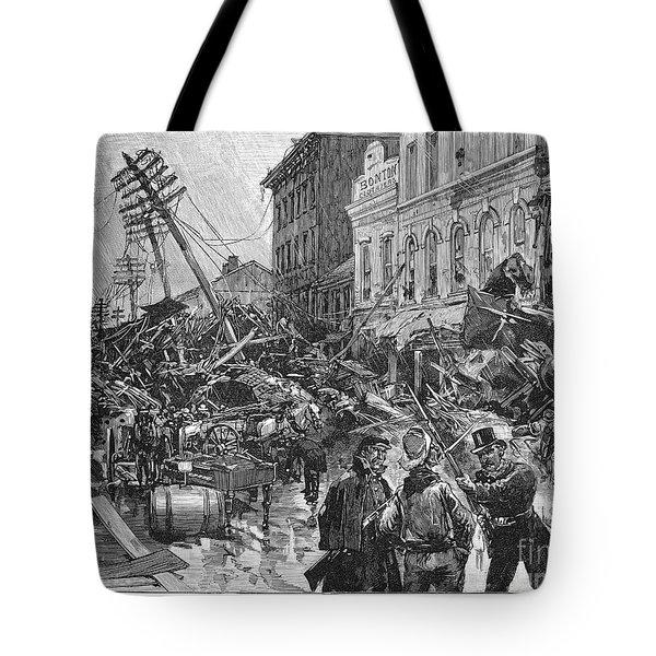 Johnstown Flood, 1889 Tote Bag by Granger