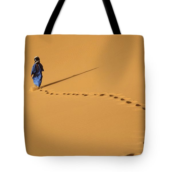 Merzouga, Morocco Tote Bag by Axiom Photographic