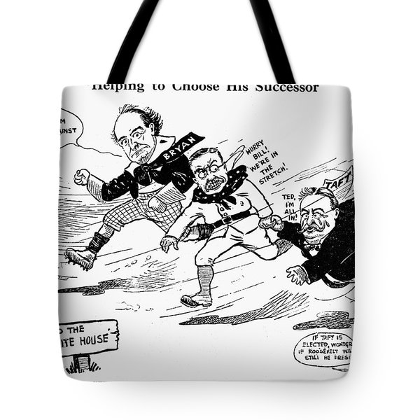 Presidential Campaign 1908 Tote Bag by Granger