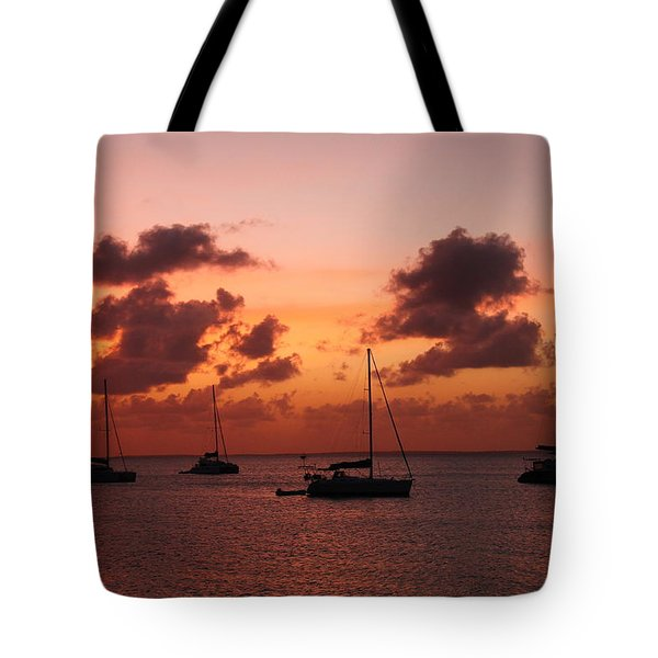 Sunset Tote Bag by Catie Canetti