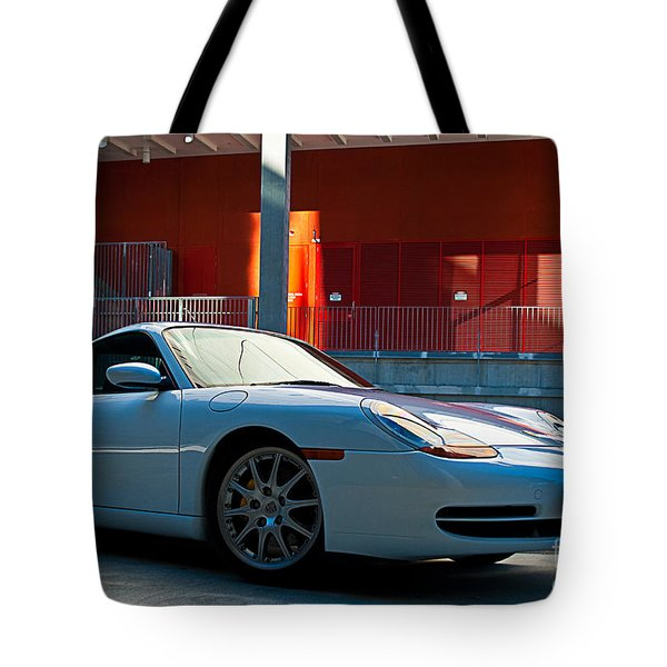 911 Porsche 996 2 Tote Bag by Stuart Row