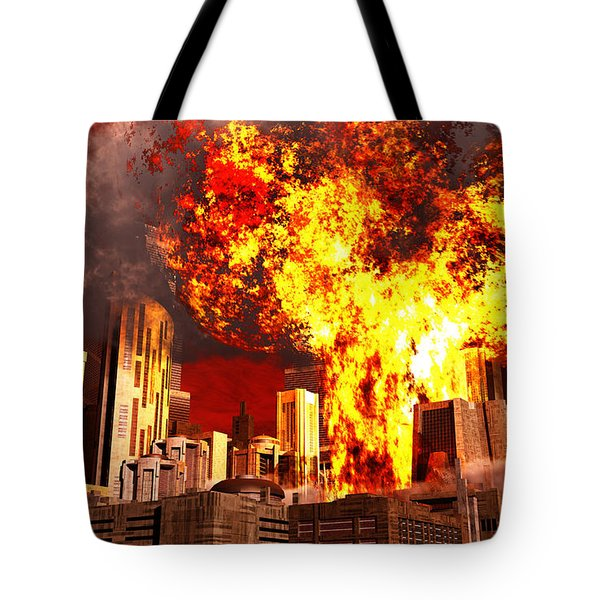 A 3d Conceptual Image Of A Stealth Tote Bag by Mark Stevenson