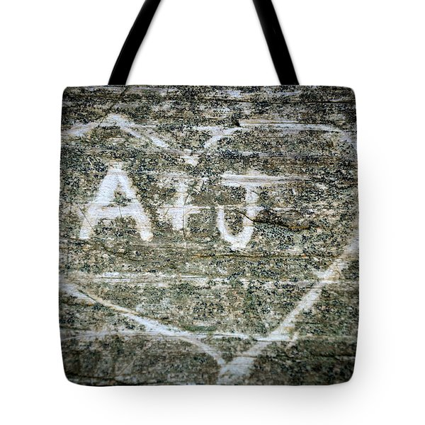 A And J Tote Bag by Julia Wilcox