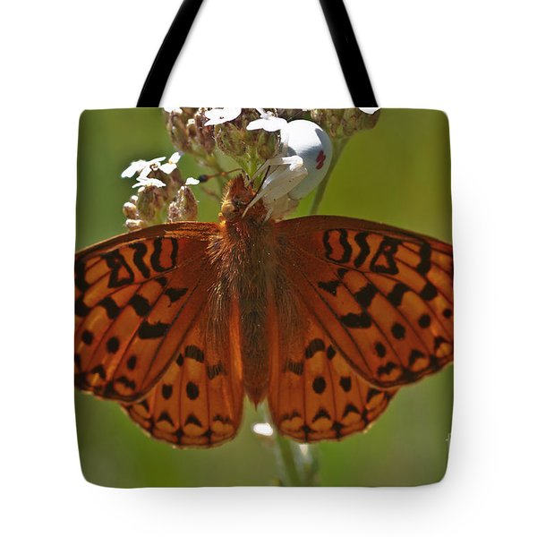 Tote Bag featuring the photograph A Beautiful Breakfast by Mitch Shindelbower