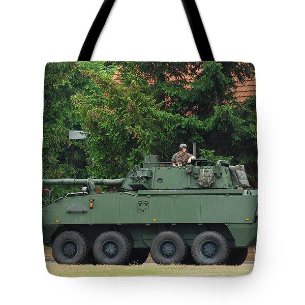 A Belgian Army Piranha IIic Tote Bag by Luc De Jaeger