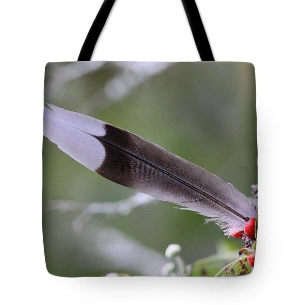 A Birds Christmas Tote Bag by Travis Truelove