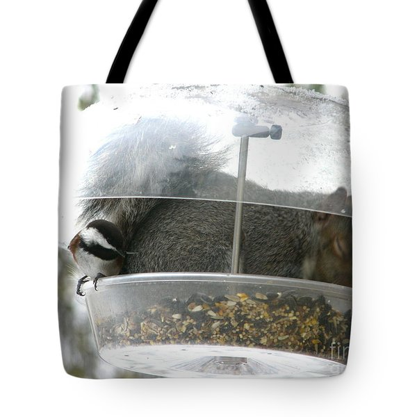A Bit Crowded Tote Bag by Rory Sagner