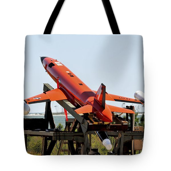 A Bqm-167a Subscale Aerial Target Tote Bag by Stocktrek Images