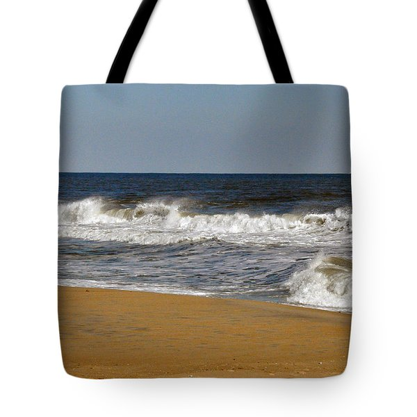 A Brisk Day Tote Bag by Sarah McKoy