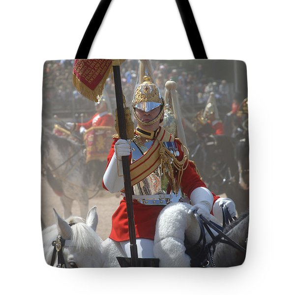 A British Life Guard Of The Household Tote Bag by Andrew Chittock