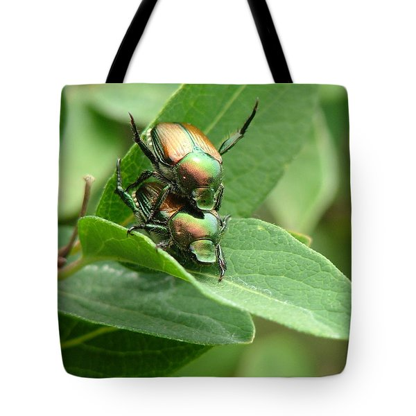 A Bugs Day Tote Bag