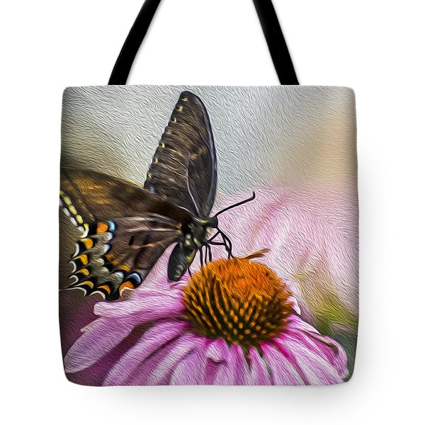 A Butterfly's Magical Moment Tote Bag