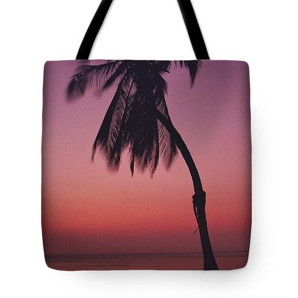 A Caribbean Beach Tote Bag