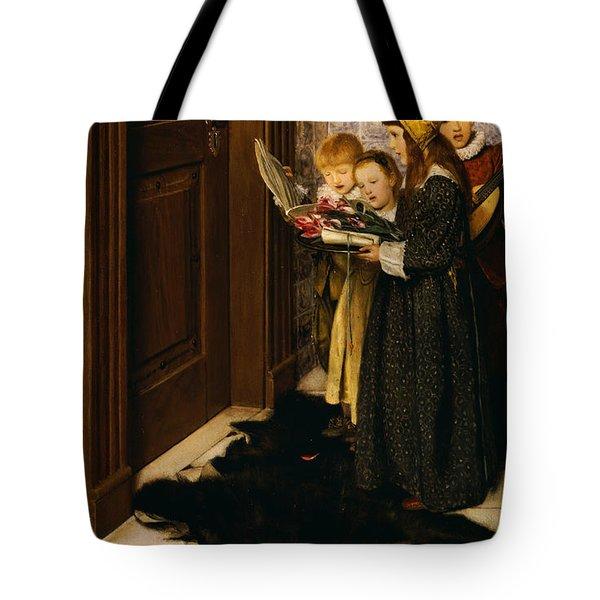 A Carol Tote Bag by Laura Theresa Alma-Tadema
