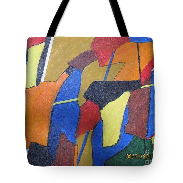 A City Tote Bag by Nedunseralathan R